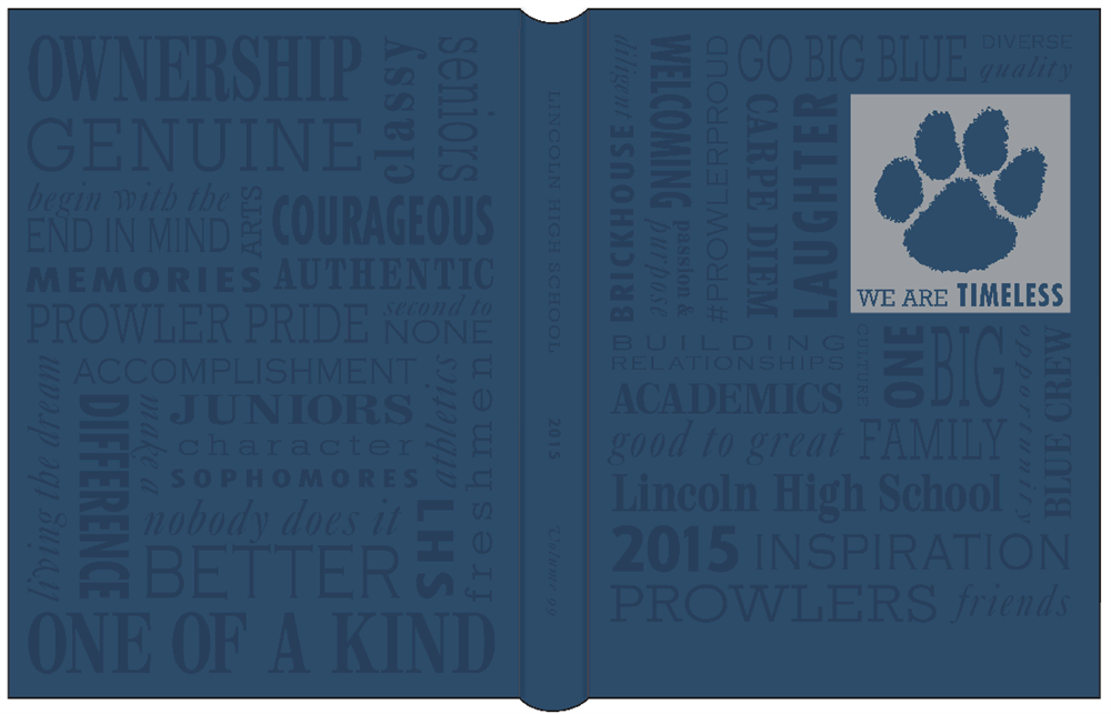2015 yearbook cover