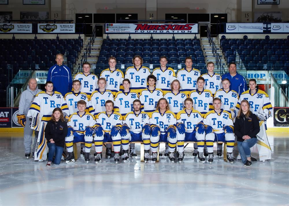 Image result for thief river falls high school hockey 2019